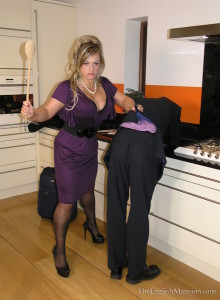 Wooden Spoon Spanking