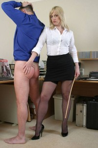Strict wife punishment spank